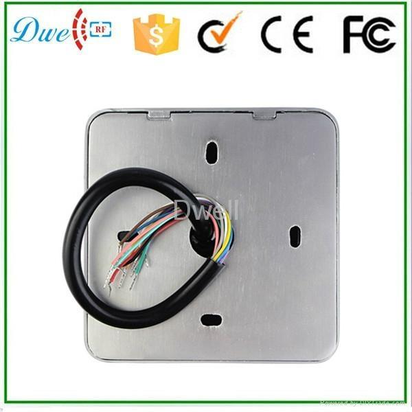 9 to 24V Metal  keypad access control rfid reader waterproof IP68 7
