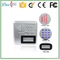 9 to 24V Metal  keypad access control rfid reader waterproof IP68 4