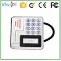 9 to 24V Metal  keypad access control rfid reader waterproof IP68 3