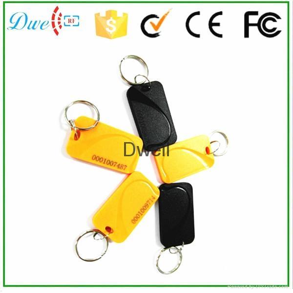 125khz plastic abs cheap passive rfid keyfob tag K003 2