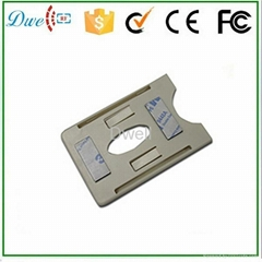 UHF PVC card holder for card  using in car  windowshield