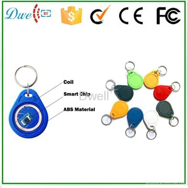 Access control RFID proximity key tag TK4100 or S50 key chain K001     10