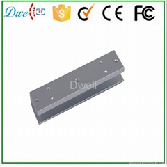 U Bracket U type bracket for 180 KG access control Frameless Glass magnetic door
