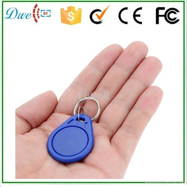 Access control RFID proximity key tag TK4100 or S50 key chain K001     1