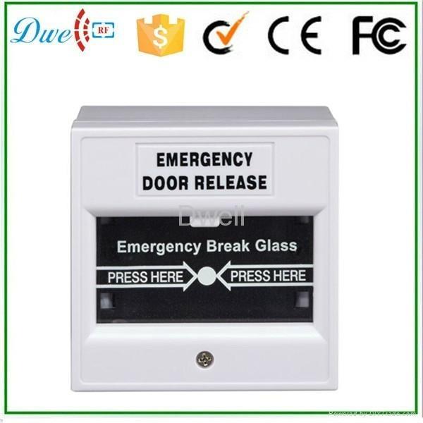 Emergency break glass exit button push button switch DW-B05 6