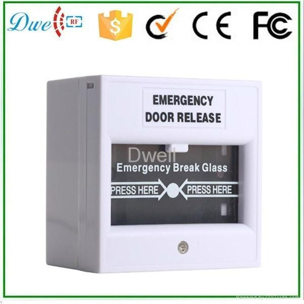 Emergency break glass exit button push button switch DW-B05 7