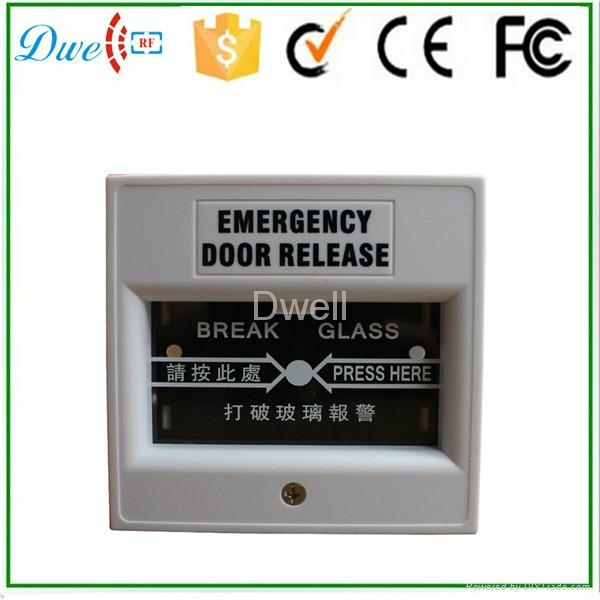 Emergency break glass exit button push button switch DW-B05 9