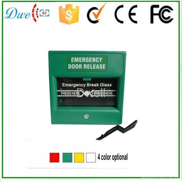 Emergency break glass exit button push button switch DW-B05 5