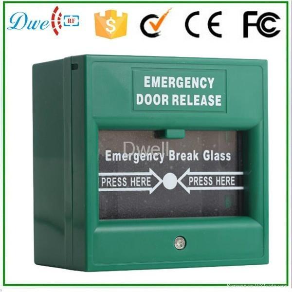 Emergency break glass exit button push button switch DW-B05 1