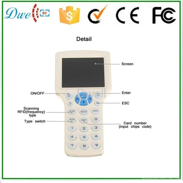 Multi-function ID/IC card copier Smart Card cloner  3