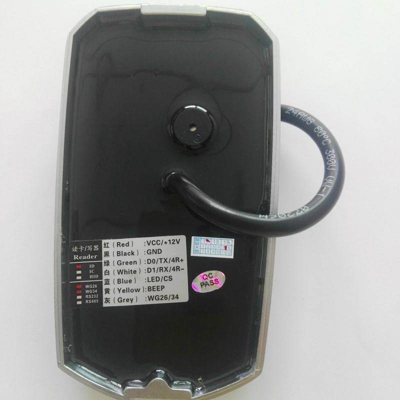 9 to 16V waterproof metal rfid reader IP68 6