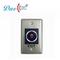 Exit button infrared no touch style of