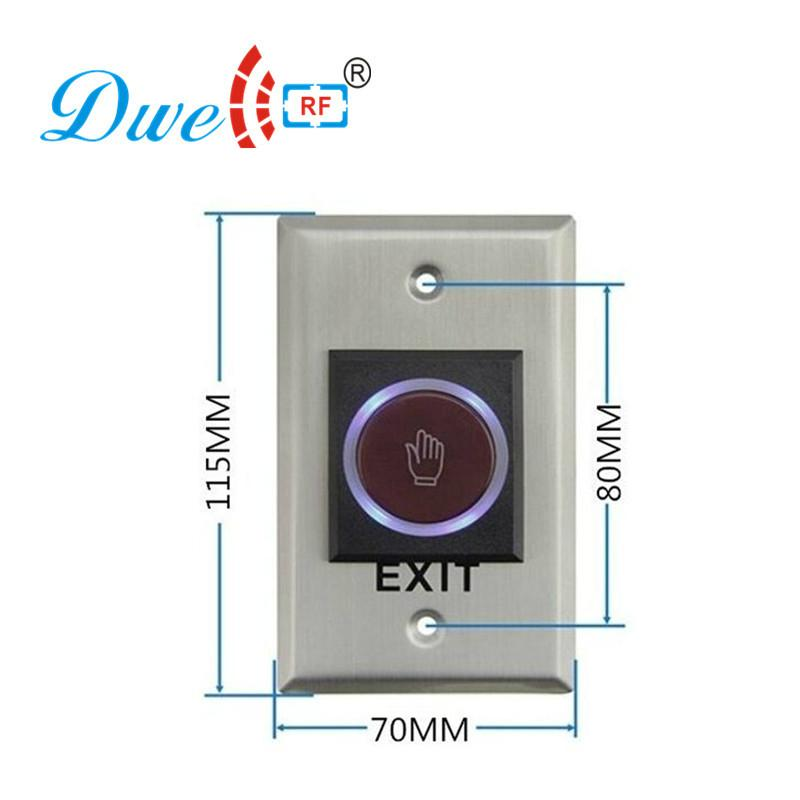 Exit button infrared no touch style of access control systems,access switch  2