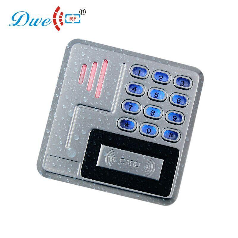 9 to 24V Metal  keypad access control rfid reader waterproof IP68 1