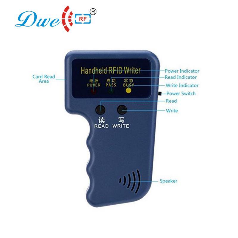 RFID Handheld 125KHz EM4100 ID Card Copier Writer Duplicator 4