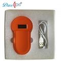 134.2khz fdx-b EM4305 rfid micro animal chip reader cattle pet scanner for anima