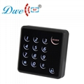 125khz 13.56mhz proximity access control touch screen keypad reader wiegand