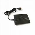 125khz RFID smart card readers 13.56mhz NFC chip USB keyboard emulation reader  2