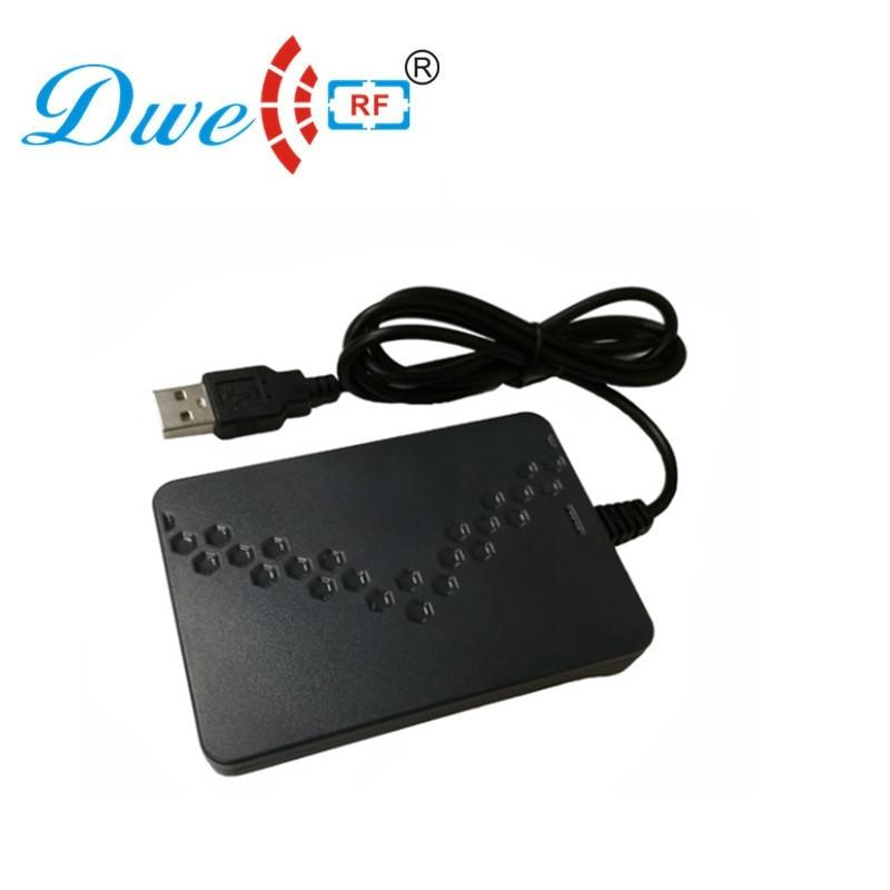 125khz and 13.56mhz double frequency usb rfid reader G6D 1