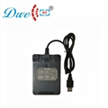 125khz and 13.56mhz double frequency usb rfid reader G6D