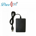 125khz and 13.56mhz double frequency usb rfid reader G6D 4
