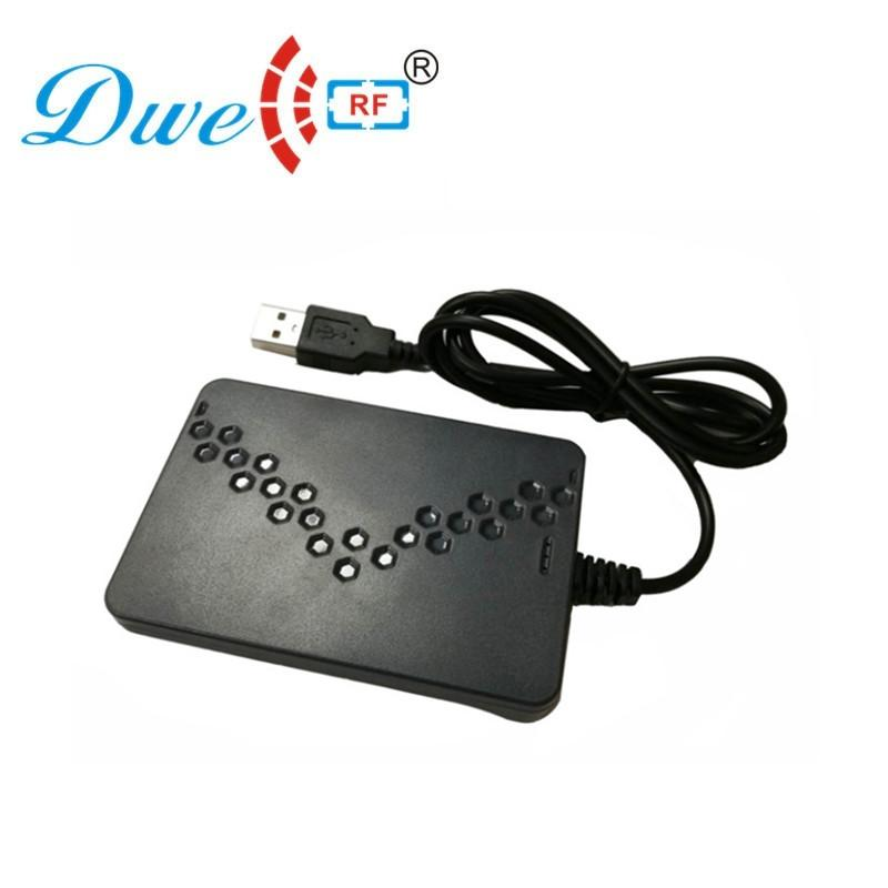 125khz and 13.56mhz double frequency usb rfid reader G6D 5