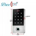 125khz metal waterproof ip 68 smart card standalone rfid fingerprint access cont 2