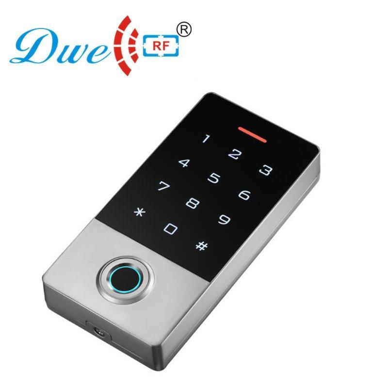 125khz metal waterproof ip 68 smart card standalone rfid fingerprint access cont 1