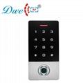 125khz metal waterproof ip 68 smart card standalone rfid fingerprint access cont 3