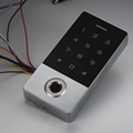 125khz metal waterproof ip 68 smart card standalone rfid fingerprint access cont 5