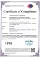 IP 68  Waterproof Rate  Certification