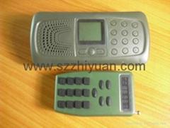 10w 120dB speaker remote controller Hunting Bird sound mp3 110 type bird sound