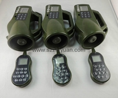 GAME CALLS with 4 HOT keys and 400 sounds and 250 yards remote for hunting game