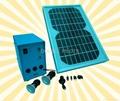 Creative LED Solar Lighting Kits(
