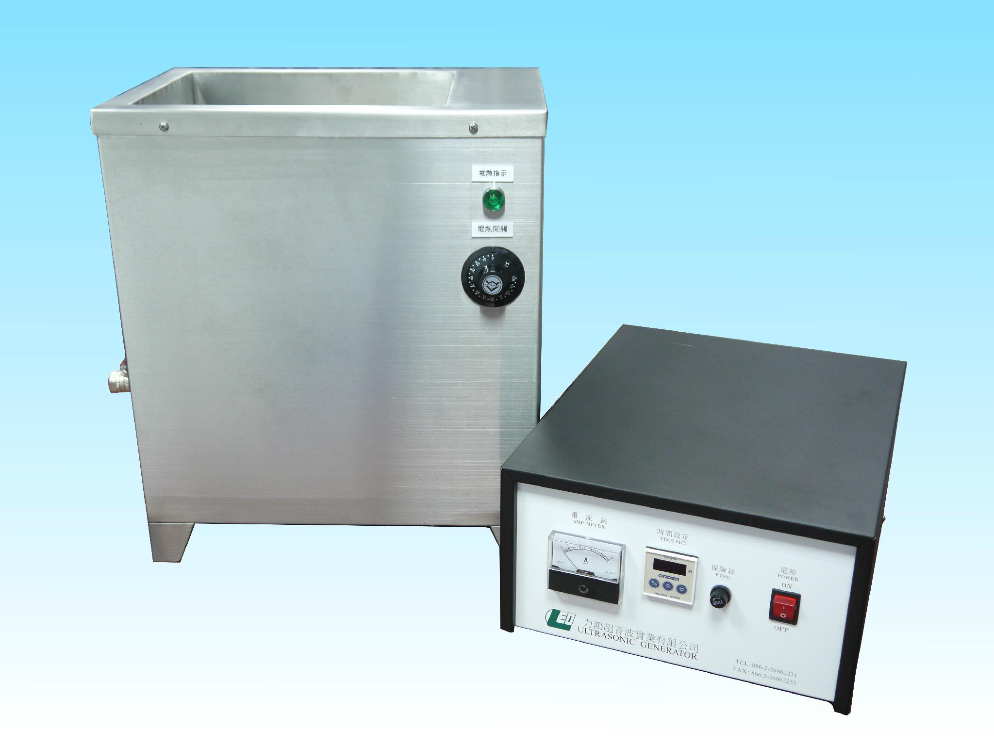Single Tank (2-piece)Ultrasonic Cleaner for parts wash 1