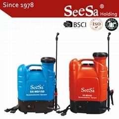 15L/18L Garden Backpack Battery Pump Pressure Sprayer
