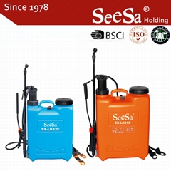 12L/16L Agricultural Backpack Manual Hand Pressure Pump Sprayer