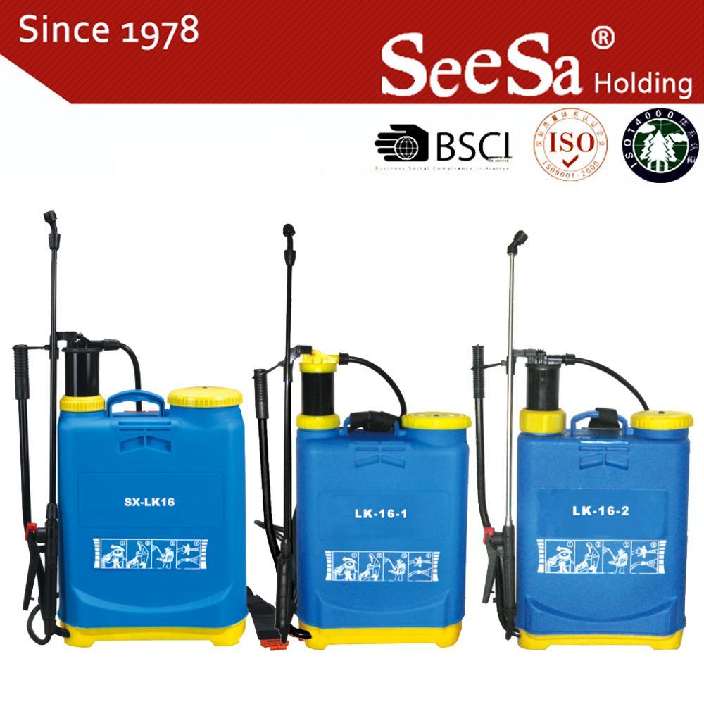 16L Knapsack/Backpack Manual Hand Pressure Agricultural Sprayer 1