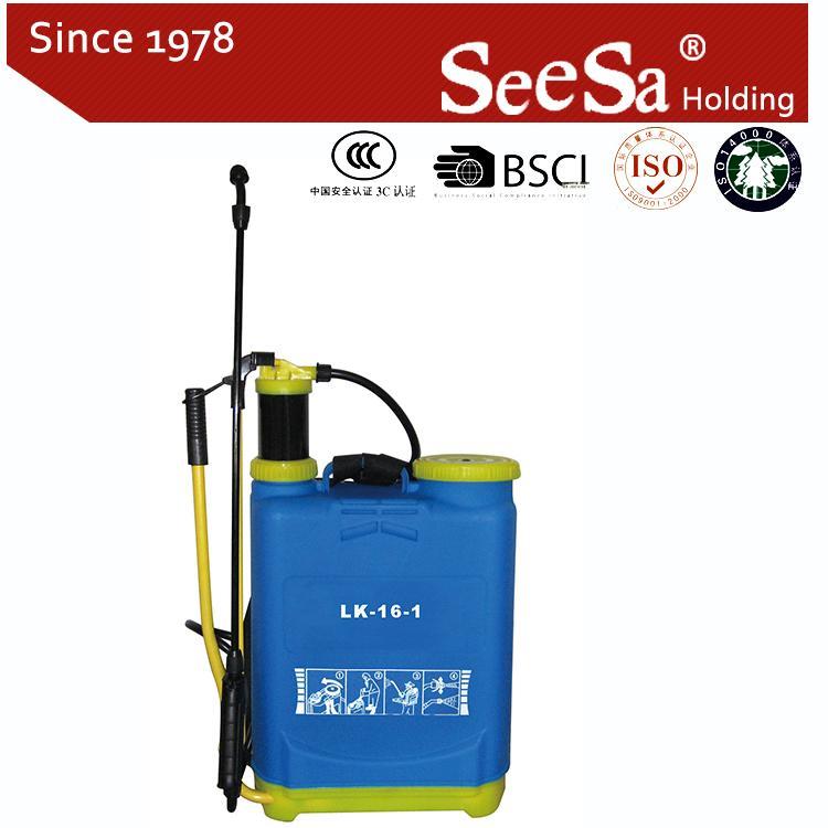 16L Knapsack/Backpack Manual Hand Pressure Agricultural Sprayer 4