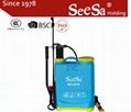 16L Knapsack/Backpack Manual Hand Pressure Agricultural Sprayer 2