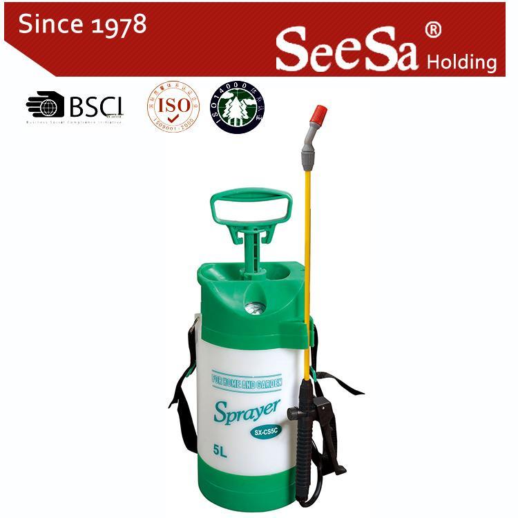 5L/8L Garden Hand Manual Power Pressure Pump Sprayer  2