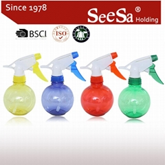 300ml Household Hand Pressure Water Trigger Sprayer Bottle
