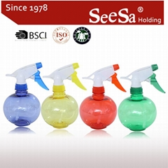 450ml Household Hand Pressure Water Trigger Sprayer Bottle