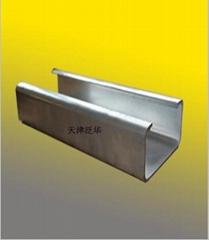 天津镀锌C型钢标准