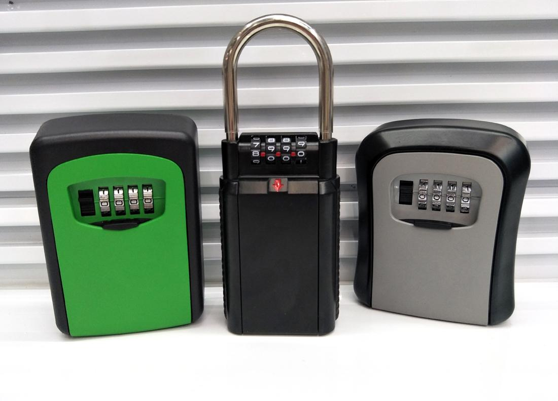 The perfect quality 4 digits Combination Key Safe Storage Box  4