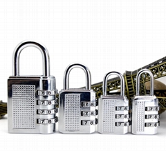 High Quality Resettable Luggage Combination padlock