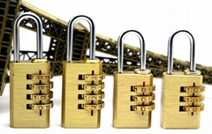 High Quality Resettable Brass Combination Lock,Combination  Padlock