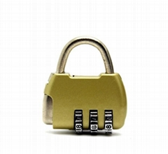 3digits Resettable Mini Combination Lock Luggage Lock