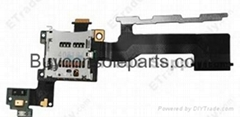 Replacement Part for HTC One M9 SD Card Reader Contact with Flex Cable Ribbon