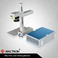 30w Desktop Fiber Laser Marking Machine For Marking Metal